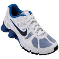 competitive price 1b1d7 e2160 Tênis Nike Shox Turbo 12 BG Infantil Branco e Azul . ...