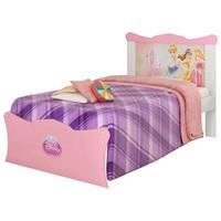 Cama Pura Magia Princesas Disney Happy-1A 3815 Infantil Feminina Branco e Rosa