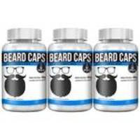 Kit Com 3 Beard Caps - 60 Cápsulas - Intlab