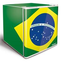 Frigobar Husky Brasil 42.9 Litros Verde