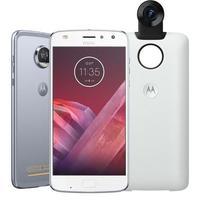 Smartphone Motorola Moto Z2 Play 360 Câmera Edition XT1710 Desbloqueado GSM 64GB Dual Chip Android 7.1 Azul Topázio