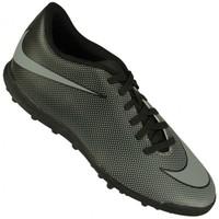 Chuteira Society Nike Bravata II TF Masculino Preto e Cinza