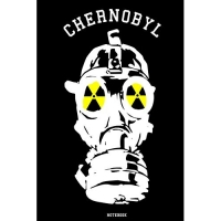 Chernobyl: Notebook - college book - diary - journal - booklet - memo - composition book - 110 sheets - ruled paper 6x9 inch