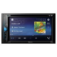 DVD Player Automotivo Pioneer AVH A208BT Bluetooth 6.2""