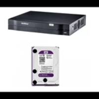 DVR Intelbras MHDX 1108 + Disco Rígido 1TB Western Digital Purple