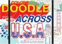 Color and doodle your way across the usa
