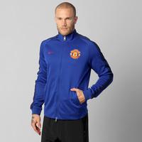 Jaqueta Nike Manchester United N98 Authentic Trk FA Masculina Azul ... 7c4cd3b6a175e