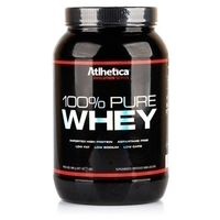 Suplemento Atlhetica Pure Whey Protein Baunilha 900g