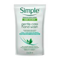 Sabonete Líquido para as Mãos Antibactericida Simple Gentle Care Refil 200ml