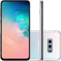 Smartphone Samsung Galaxy S10e SM-G970F/1DL Desbloqueado 128GB Dual Chip Android 9.0 Branco