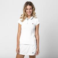 Camisa Polo Fila Bland Feminina Branca  92065d542d778