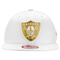 9033c1eb8db0e Boné New Era 950 NFL Oakland Raiders Branco e Dourado