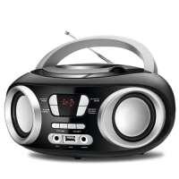 Rádio Portátil Mondial Boom Box Nbx 13 Rádio FM Preto Bivolt