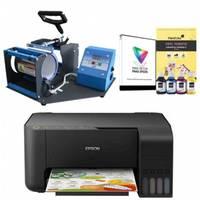 Impressora Multifuncional Epson EcoTank L3150 + Sublimação Em Canecas