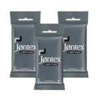Kit Jontex Preservativo Lubrificado C/6 - 3 Unid.