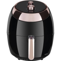 Fritadeira sem Óleo Philco Air Fryer Chrome PFR02PC 5,5Litros Preto