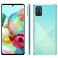 Smartphone Samsung Galaxy A71 SM-A715F/1DL Desbloqueado 128GB Dual Chip Android 10 Azul