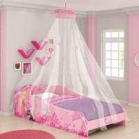 Cama Barbie Pura Magia Plus 5A com Dorsel Teto Branco
