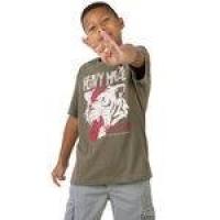 T-shirt Estampada Infantil Masculino Verde Militar Taco