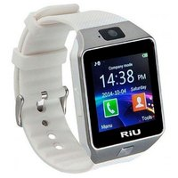 Smartwatch Riu R-160 Micro Chip Câmera 2.0 32MB MP3 MP4 Branco
