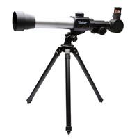 Kit Telescópio e Microscópio Vivitar VIVTELMIC20 Preto e Prata