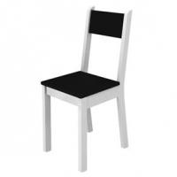 Cadeira Madesa Tutti Colors 4228X Branca e Preto