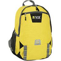 Mochila Republic Vix 8728016 Amarelo e Cinza