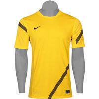 98470feb76bfd Camisa Nike Elite Treino Masculina Amarela e Preta