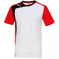 Camisa Puma BTS Shirt Masculina Branca e Vermelha  3c4189ce71b62