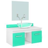 Gabinete para Banheiro VTEC Algol Aqua