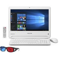Computador All In One Positivo Union PCTV Intel Celeron 4GB 500GB UD3553 18.5 3D Windows 10 Branco
