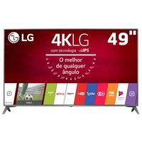 Smart TV LED 49'' 4K LG 49UJ6565 Sistema Webos 3