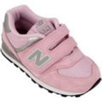new balance rosa infantil