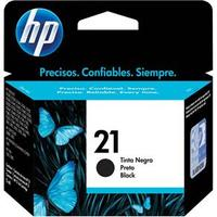 Cartucho HP 21 preto Original (C9351AB) Para HP Officejet J3680, J5508, Deskjet F2224