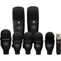 Kit 8 Microfones com Fio para Instrumentos DRK F5H3 - Superlux