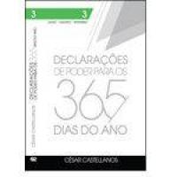 Declarações de Poder Para os 365 Dias do Ano: Julho, Agosto, Setembro - Vol.3