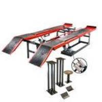 Rampa de alinhamento pneumática vermelha - MR4000 - Máquinas Ribeiro