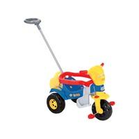 Triciclo Infantil Magic Toys Bichos 3514 Haste Removível Colorido