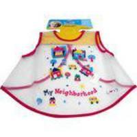 Babador Tipo Vestidinho Impermeável Colorido Baby First