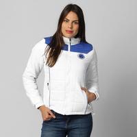 Jaqueta Cruzeiro Nylon Feminina Branca  a184e61941d63