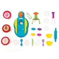 Massa de Modelar Tutti Frutti Conjunto Fábrica De Cup Cake New Toys