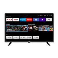 Smart TV 32 LED Britânia BTV32G52S Netflix Preta