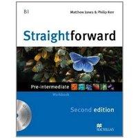 Straightforward Pre-intermediate Level - Workbook + Audio CD - 2ª Edição
