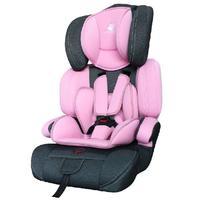 Cadeira Para Carro Mastela Allegra Cinza Preta e Rosa