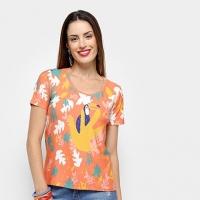 Camisetas Cantão Feminino T-SHIRT TUCANO ZAT 525192