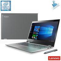 Notebook 2 em 1 Lenovo 80YM0005BR Core i7 7500U 2.7GHz 8GB 1TB Windows 10 Home
