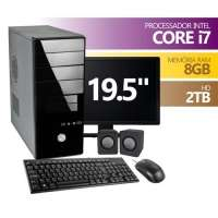 Computador Premium Business DH61AG Intel Core I7-1155 3.10Ghz 8GB 2TB Monitor 19.5 Linux + Kit