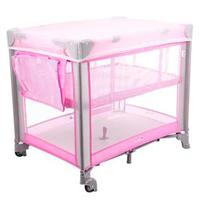 Berço Mini Safety 1st Play Pop Pink