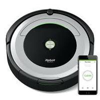 Aspirador de Pó Robô Inteligente iRobot Roomba 690 Preto e Prata