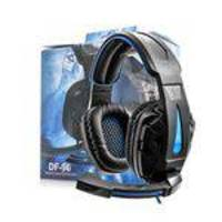 Headphone + Microfone Headset Jogos Gamers Df-96